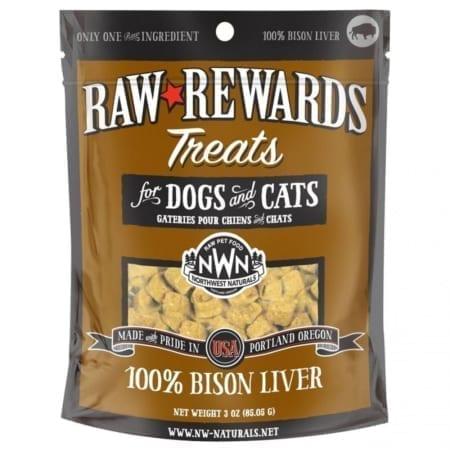 Northwest-Naturals-Raw-Rewards-Freeze-Dried-Bison-Liver-Dog-Cat-Treats-850x1190