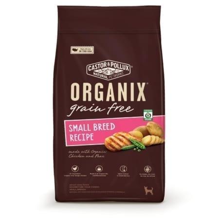 ORGANIX 有機(犬糧)無穀物小型犬配方 4Ib-500x500