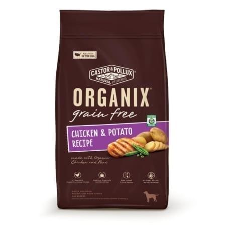 ORGANIX 有機犬糧無穀物雞肉馬鈴薯配方-500x500