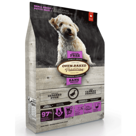 nourriture-pour-chien-petite-race-sans-grain-canard-grain-free-duck-flavoured-adult-dog-food-for-small-breeds-oven-baked-tradition-637x1024
